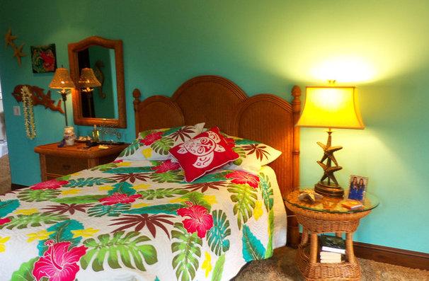 Mediterranean Bedroom by Lisa Hallett Taylor