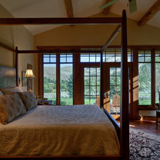 Rustic Bedroom by Gravitas, Inc.
