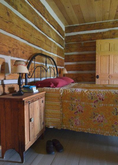 Rustic Bedroom by Sarah Greenman