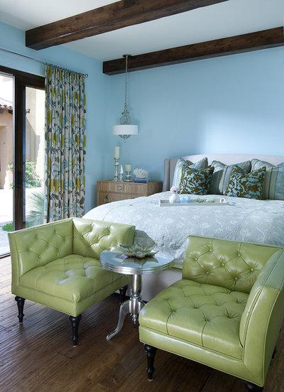 Traditional Bedroom by Hallmark Interior Design LLC