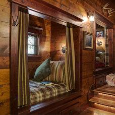 Rustic Bedroom by Lands End Development - Designers & Builders