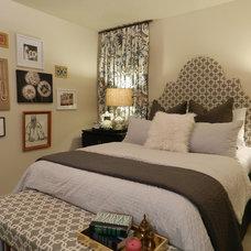 Eclectic Bedroom by Nubi Interiors
