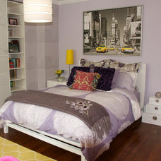Eclectic Bedroom by Urban Ideas Inc.