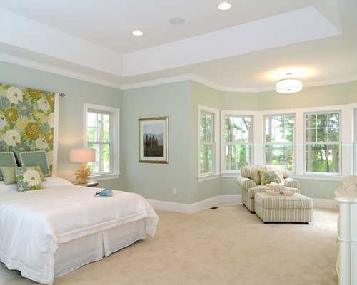 Light green wall color houzz Green wall color