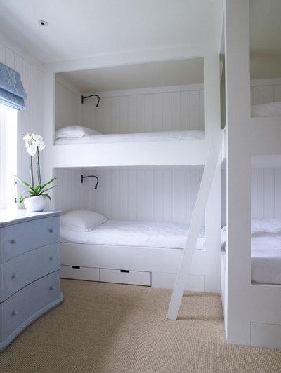 Coastal Bedroom by Meon Building Contractors Ltd