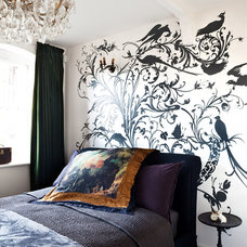 Eclectic Bedroom by Paul Craig Photography