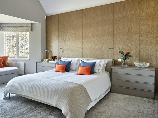 Contemporary Bedroom by LEIVARS