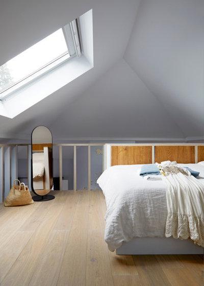 Rustic Bedroom by Indie & Co.
