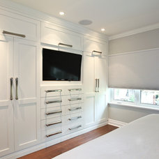 Traditional Closet by Audacia Design Downsview Kitchens