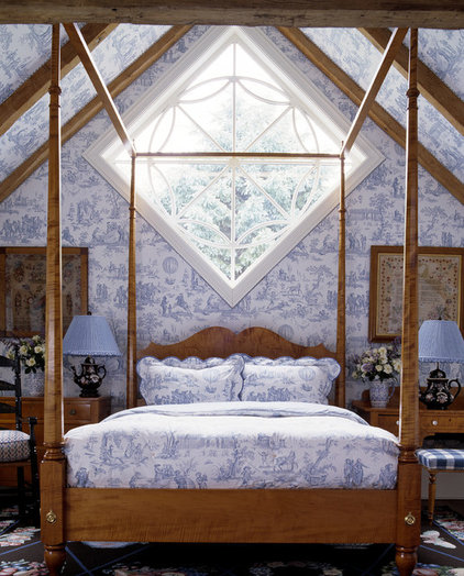 Traditional Bedroom by Anthony Baratta LLC