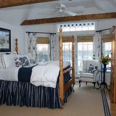 Farmhouse Bedroom by Diana Bier Interiors, LLC