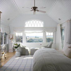 Transitional Bedroom by SGH Designs inc.