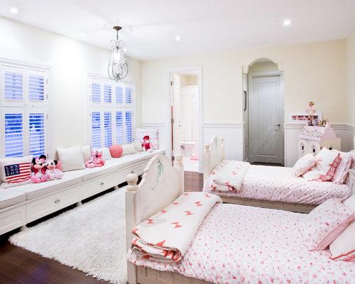 Girls Bedroom Window Seat Home Design Ideas Pictures