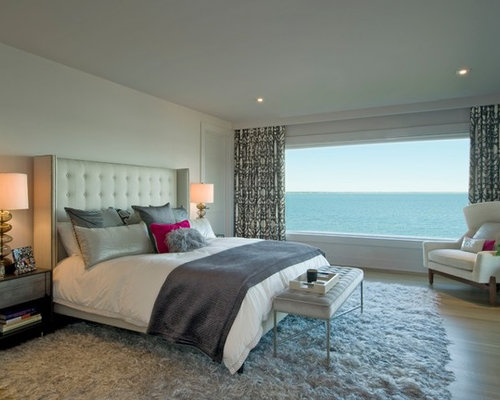 Hamptons house - Chambre adulte moderne deco ...