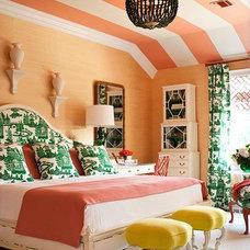 Contemporary Bedroom by Tobi Fairley Interior Design