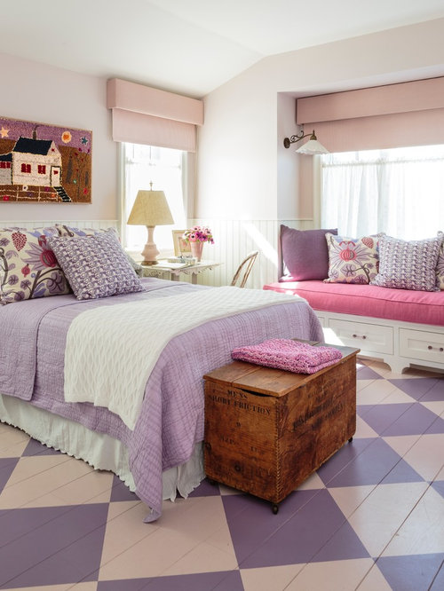 bedroom design ideas remodels photos with pink walls houzz