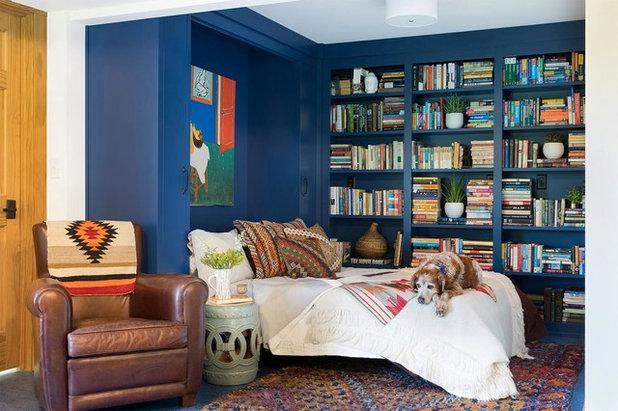 Midcentury Bedroom by Lucy Interior Design