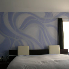 Contemporary Bedroom by Fine Art & Portraits by Laurel