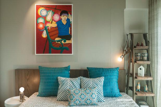 Contemporary Bedroom by MuseLAB