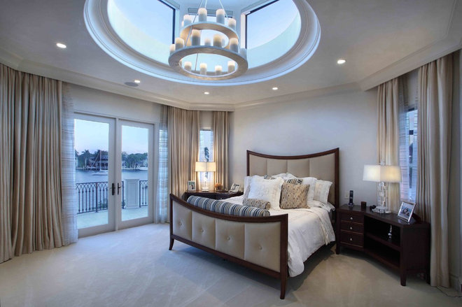 Mediterranean Bedroom by Martin Architect, Inc.