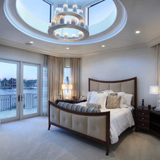 Contemporary Bedroom by W.A. Bentz Construction, Inc.