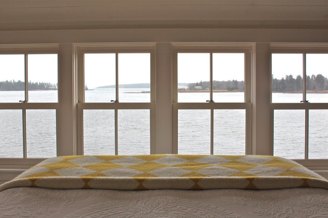 Rustic Bedroom by Justine Hand