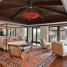 Tropical Bedroom by B Pila Design Studio