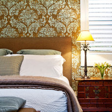 Eclectic Bedroom by Belle Property Australasia
