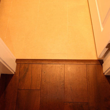 Hardwood transitions mouldings and stripes (to tile, carpet, vinyl etc)