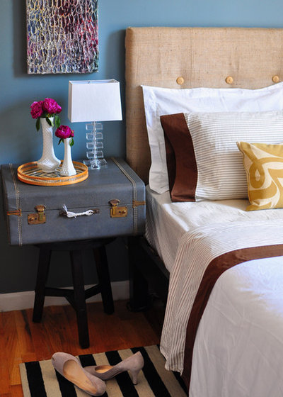 Eclectic Bedroom by Scheer & Co. Interior Design