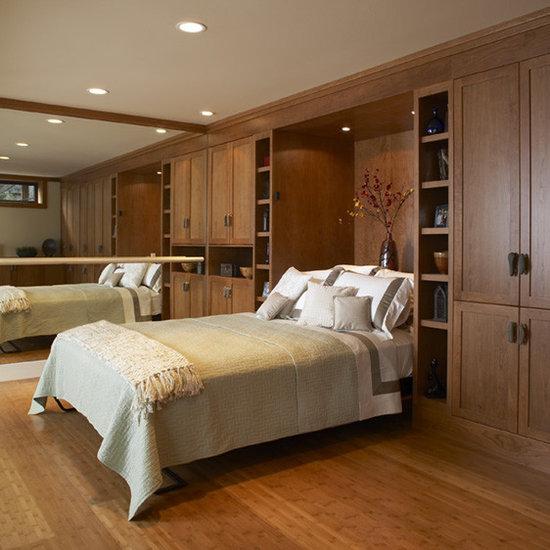 Elegant 15 Ballet Barre Bedroom Design Photos