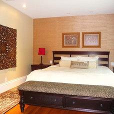 Asian Bedroom by Denyne Designs