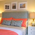 Laguna Beach Residence Beach Style Bedroom Orange
