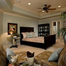 Contemporary Bedroom by Sandra King