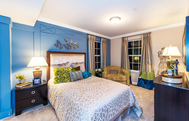 Traditional Bedroom by Haverford Homes