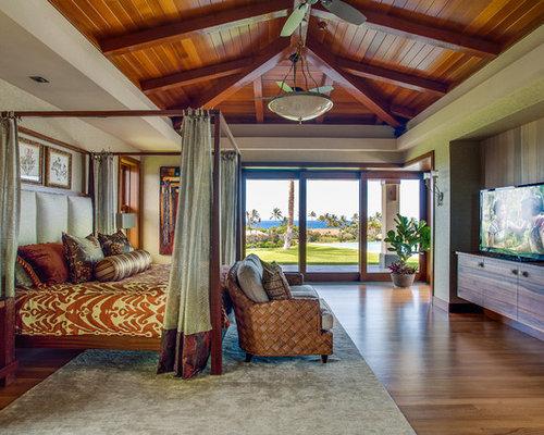 Chambre En Bois Exotique : Polynesian Bedroom Decorating Ideas
