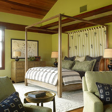 Tropical Bedroom by Slifer Designs