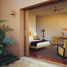 SF Hillside Retreat Guest Bedrooms