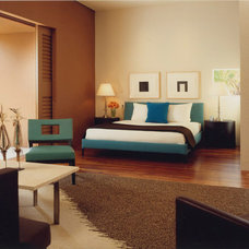 Contemporary Bedroom by The Wiseman Group Interior Design, Inc