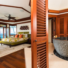 Tropical Bedroom by Smith Brothers