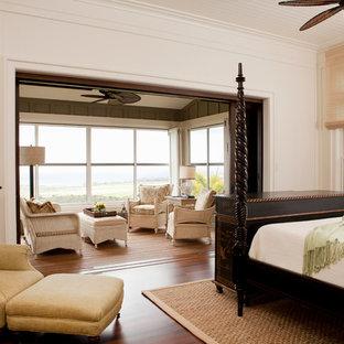 Hawaiian Plantation Retreat Master Bedroom & Private Lanai