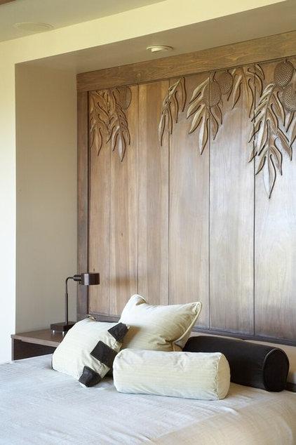 Tropical Bedroom by GT Design, Inc.