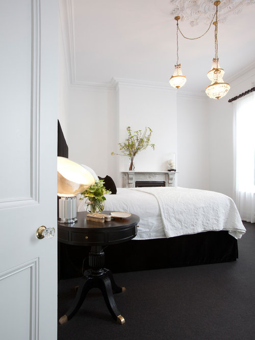 black white gold bedrooms houzz 18787 | 2f21ada800246087 7795 w500 h666 b0 p0 q80 contemporary bedroom