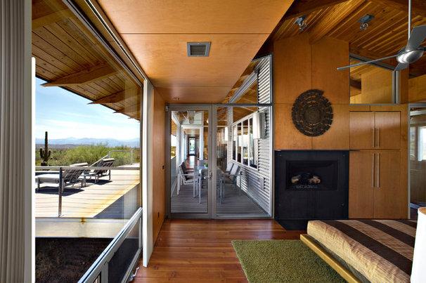 Contemporary Bedroom by Baldinger Studio