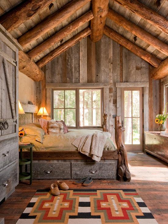 Barnwood Bedroom Houzz