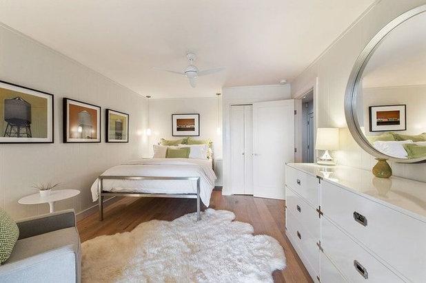 Contemporary Bedroom Healdsburg Hillside Ranch