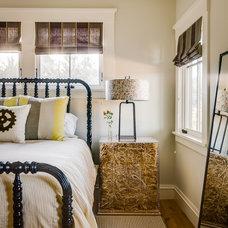 Transitional Bedroom by Bevan Associates
