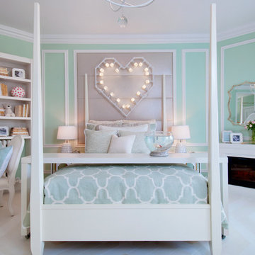 """Heart on Fire"" Little Girl's Bedroom"