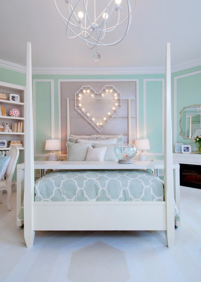 Transitional Bedroom by Crystal Waye Photo Design