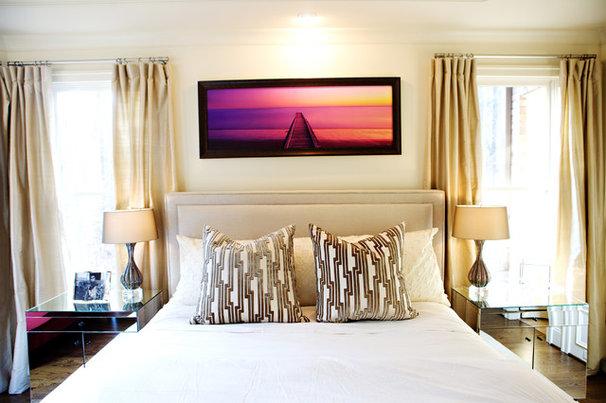 Contemporary Bedroom by Heather Garrett Design